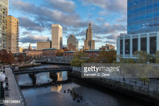 Providence Rhode Island downtown : Stock Photo
