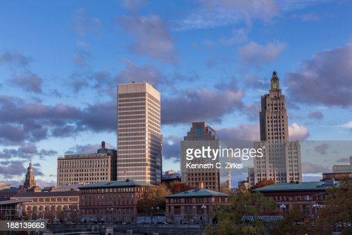Providence Rhode Island downtown : Stock Photo