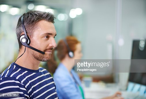 Providing professional customer support