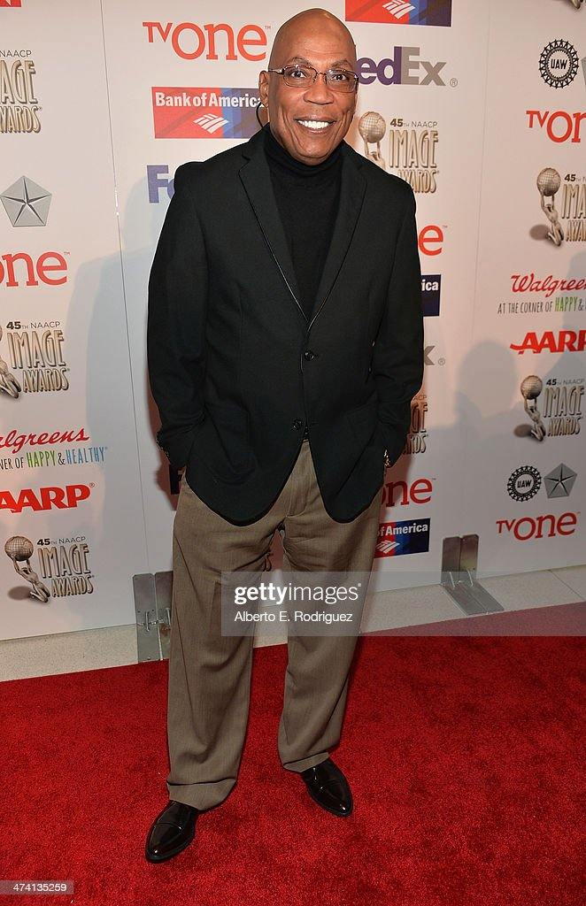 Prresident <a gi-track='captionPersonalityLinkClicked' href=/galleries/search?phrase=Paris+Barclay&family=editorial&specificpeople=792316 ng-click='$event.stopPropagation()'>Paris Barclay</a> attends the 45th NAACP Awards Non-Televised Awards Ceremony at the Pasadena Civic Auditorium on February 21, 2014 in Pasadena, California.