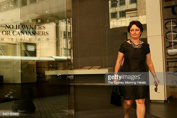 Pru Goward in Sydney She is being parachuted by the Liberals into the new Southern Highlands seat of Goulburn 18 September 2006 SMH NEWS Picture by...