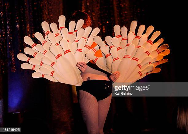 Prudence DeVilliere adapted the classic fan dance to the Big Lebowski Midnite Martini presented her Lights Camera Burlesque tribute to television...