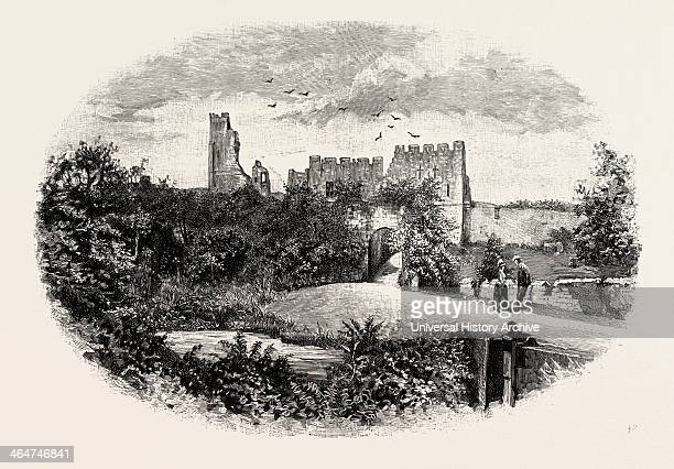 Prudhoe Castle Is A Ruined Medieval English Castle Situated On The South Bank Of The River Tyne At Prudhoe Northumberland England The Castle Stands...