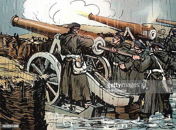 Prussian artillery battery in action FrancoPrussian War 18701871 The seeds of the FrancoPrussian War were sown by the abdication of Queen Isabella of...