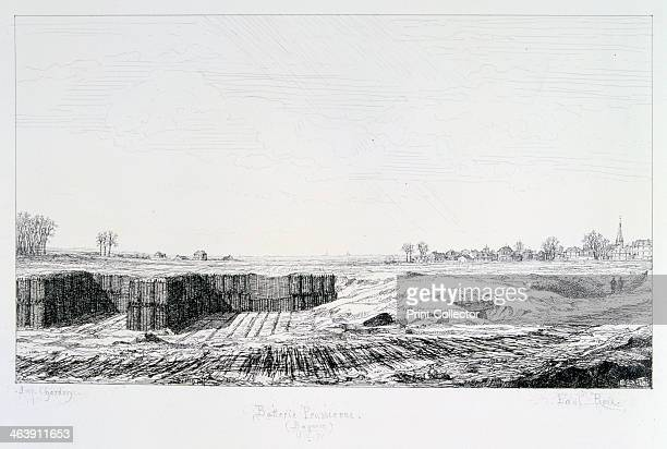 Prussian Battery Siege of Paris 18701871 After the disastrous defeat of the French at Sedan and the capture of Napoleon III the Prussians surrounded...