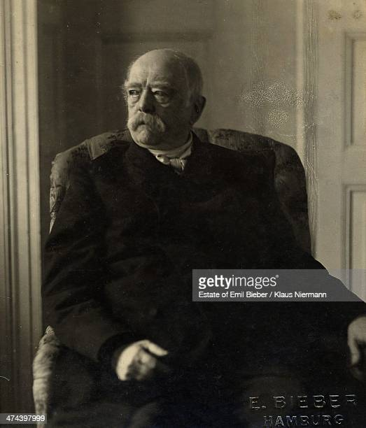 Prussian statesman and former Chancellor of Germany Otto von Bismarck 1898