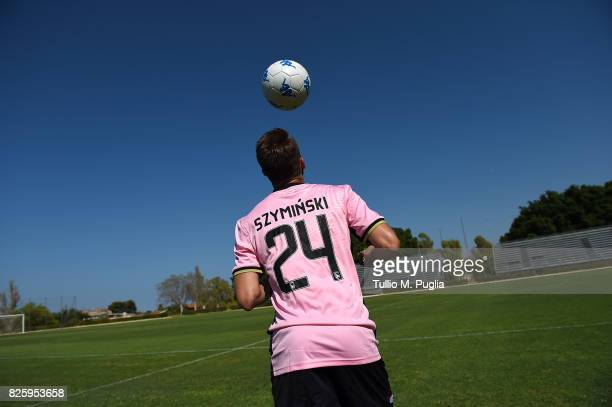 Przemyslaw Szyminski of US Citta' di Palermo in action before a training session on August 1 2017 in Palermo Italy