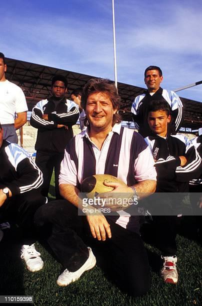 Sebastien President of the Rugby club in Brive la Gaillarde France on April 24 1995