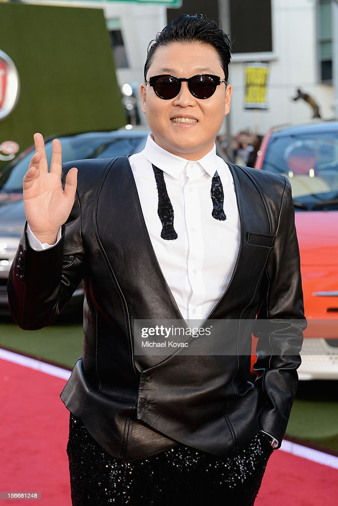 Psy attends Fiat's Into The Green during the 40th American Music Awards held at Nokia Theatre L.A. Live on November 18, 2012 in Los Angeles, California.