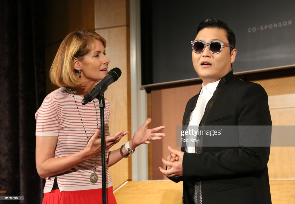 Psy attends Tribeca Disruptive Innovation Awards on April 26, 2013 in New York City.