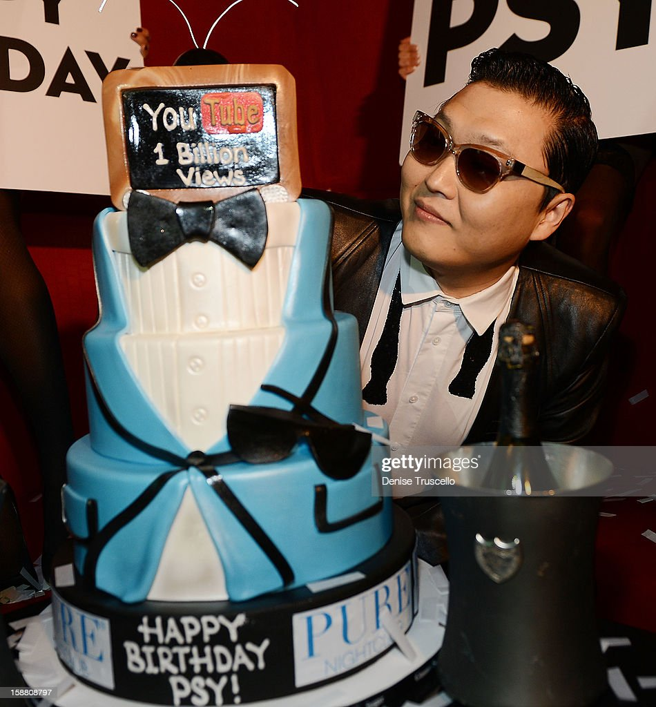 Psy celebrates his birthday and kicks off New Year's Eve 'Gangnam Style' with a performance at PURE Nightclub on December 29, 2012 in Las Vegas, Nevada.