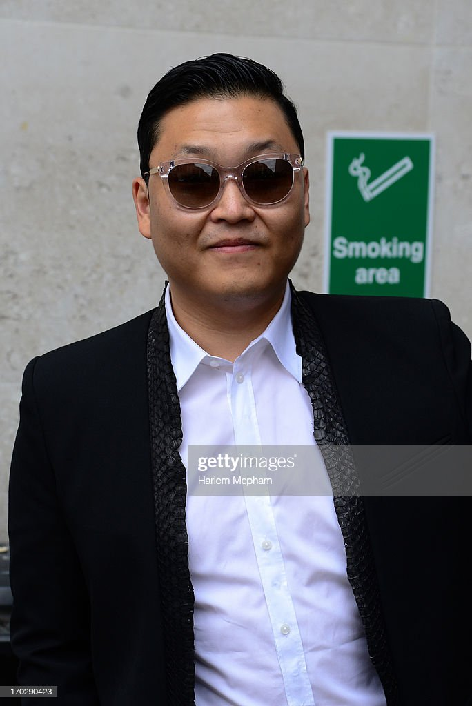 Psy sighted leaving BBC Radio One on June 10, 2013 in London, England.