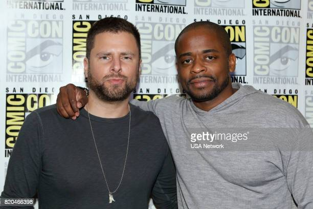 DIEGO 'Psych Reunion Press Room' Pictured James Roday and Dulé Hill