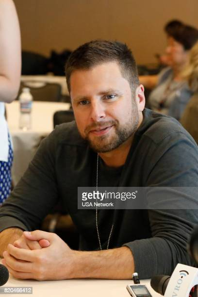 DIEGO 'Psych Reunion Press Room' Pictured James Roday