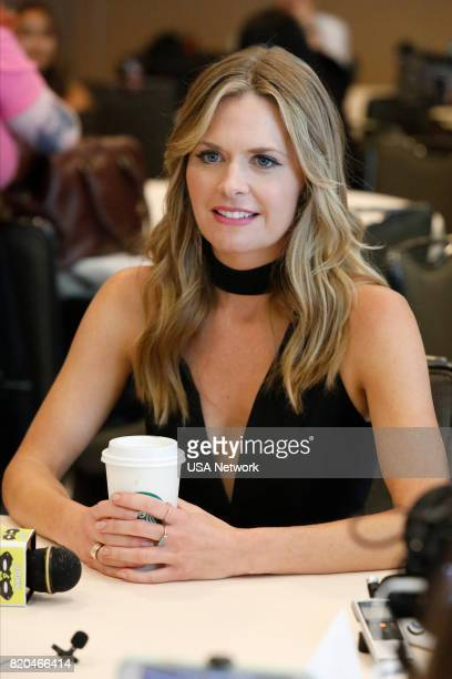 DIEGO 'Psych Reunion Press Room' Pictured Maggie Lawson