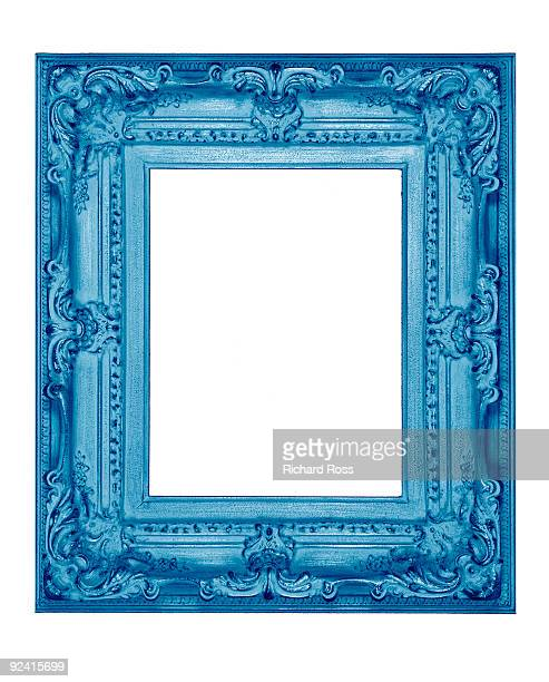A Psychedelic Blue Frame