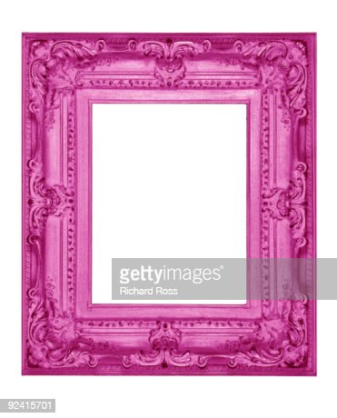 A Psychedelic Pink Frame : Stock Photo