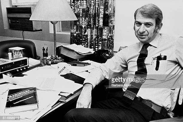 Psychiatrist Dr Lester Grinspoon marijuana researcher and author and Associate Professor Emeritus of Psychiatry at Harvard Medical School Cambridge...
