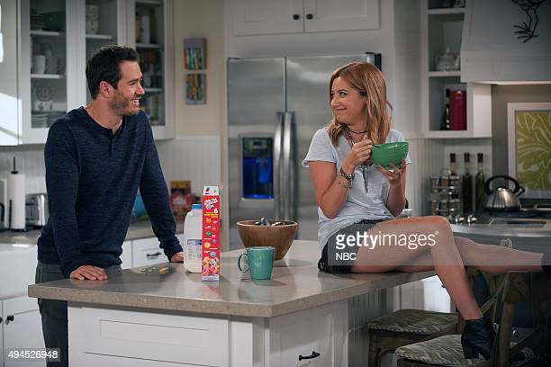 TOLD 'Psychic Chicken' Episode 103 Pictured MarkPaul Gosselaar as Mitch Ashley Tisdale as Sam