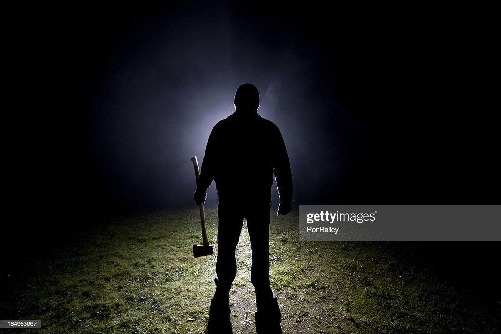 Psycho Killer - Axe : Stock Photo