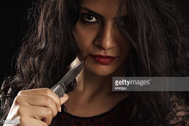 psycho woman