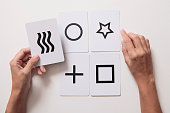 psychological game of mentalism with letters zener