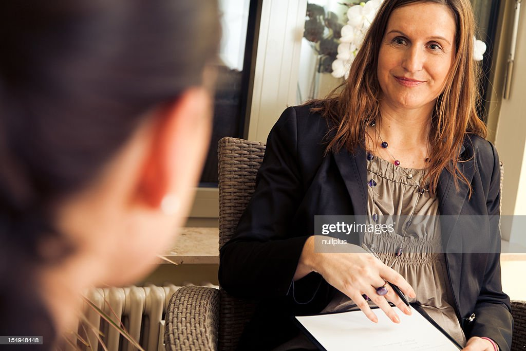 psychotherapy session : Stock Photo