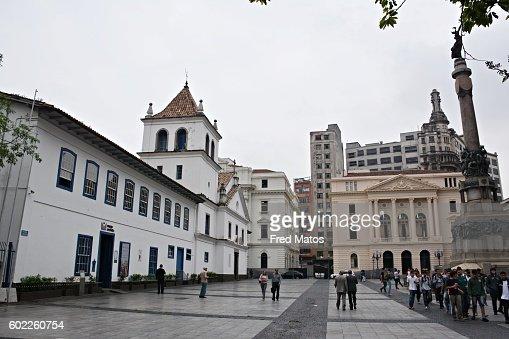 Pátio do Colégio - The College Courtyard