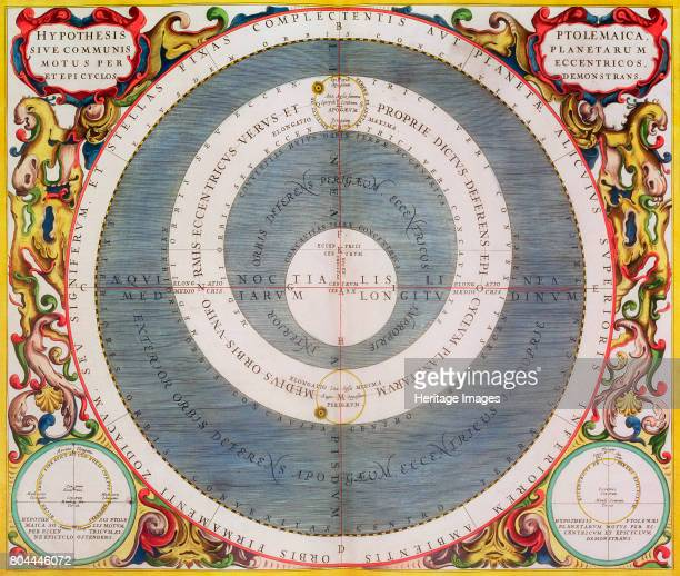 Ptolemic System 16601661 The Ptolemaic or geocentric model has the Earth at the centre of the Universe with all the other bodies including the Sun...