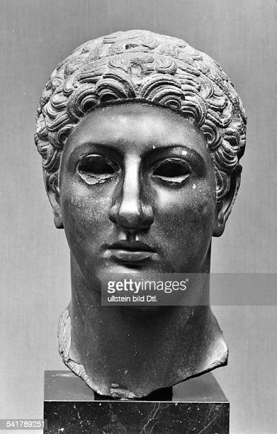 Ptolemy III Euergetes Pharaoh Egypt222BCPortrait Greek sculpture in the Ny Carlsberg Glyptotek undatedVintage property of ullstein bild