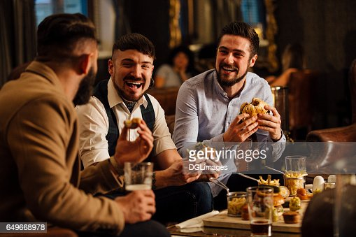 Pub Food And Drinks : Foto de stock