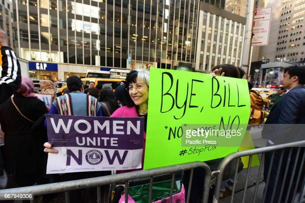 Public Advocate Letitia James held a press conference in front of Fox News headquarters by Rockefeller Center to demand the network investigate...
