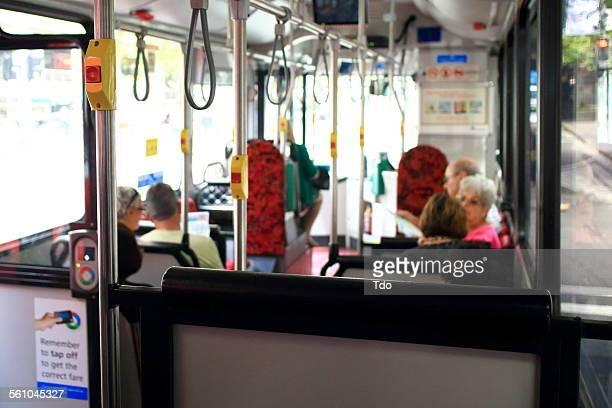Public Bus In Sydney