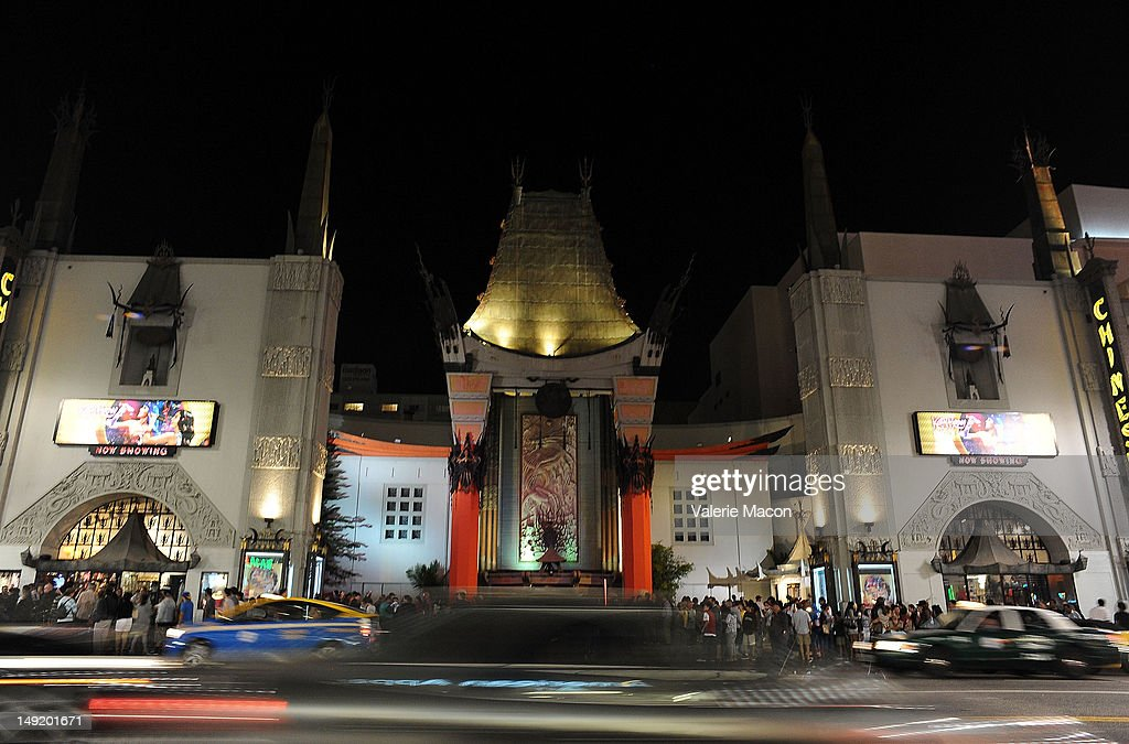 Public Candlelight Vigil For The Victims And Survivors Of The Aurora Colorado Theatre Incident infront of the Grauman's Chinese Theatre at Grauman's...