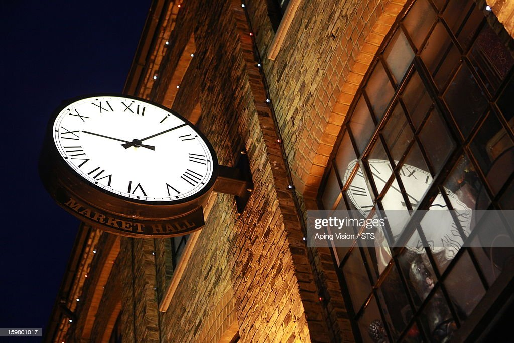 Public clock, London : Stock Photo