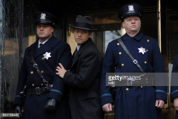 TIMELESS 'Public Enemy No 1' Episode 114 Pictured Misha Collins as Eliot Ness