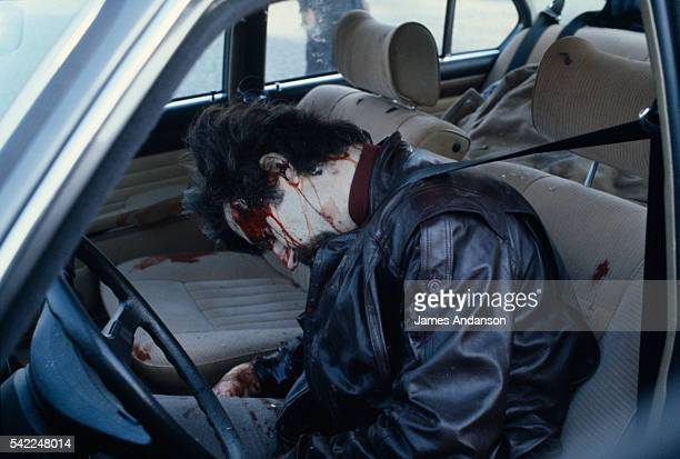'Public Enemy Number 1' Jacques Mesrine a French bankrobber and kidnapper hunted by the police throughout France He was assassinated in Paris on...
