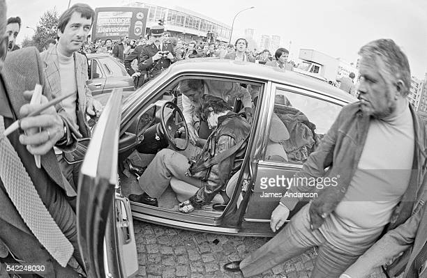 'Public Enemy Number 1' Jacques Mesrine a French bankrobber and kidnapper hunted by the police throughout France He was assassinated in Paris in the...