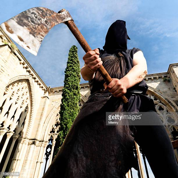 Public Executioner with Axe