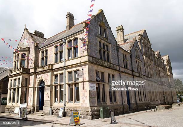 Public library Truro Cornwall England UK