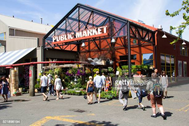 Public Market, Granville Island, Vancouver, British Columbia, Canada