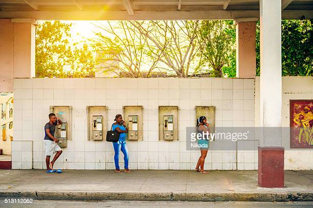public payphone in Cuba