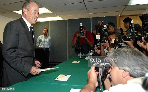 Public prosecutor Ignacio Carrillo answers questions 24 July 2004 during a press conference in Mexico City A Mexican judge on Saturday rejected...