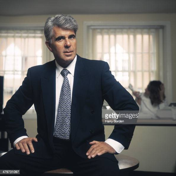 Public relations consultant Max Clifford is photographed for the Observer on August 30 1994 in London England