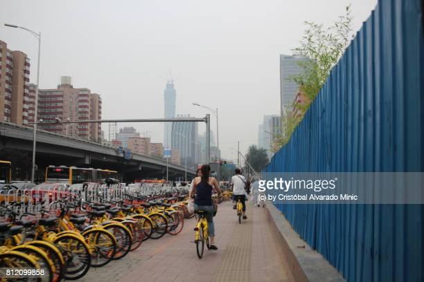 Public Rental Bicycles In Beijing