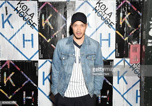 Public School Designer DaoYi Chow attends the Kola House Opening Party at Kola House on September 20 2016 in New York City