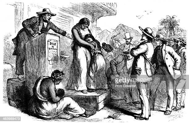 Public slave auction 1965 A print from The Slave Trade and its Abolition edited by John LangdonDavies Jonathan Cape London 1965