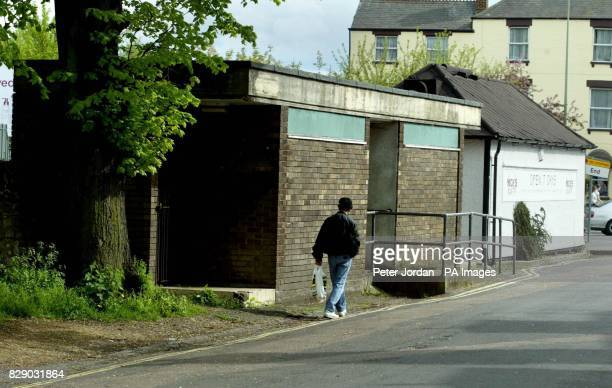 A public toilet in Cripley Street in Oxford which a couple are hoping to turn into a onebedroom flat Henry and Ann Cubby want to convert the...