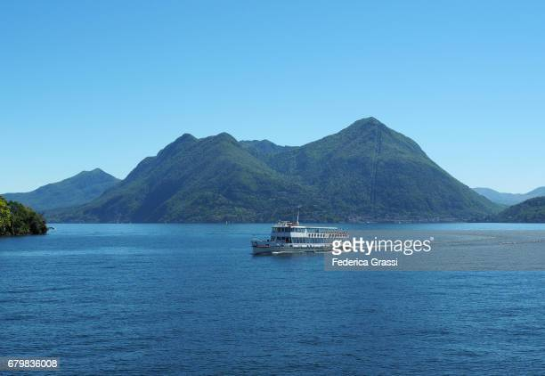 Public Transport Boat on Lake Maggiore