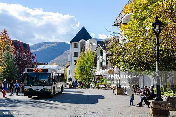 Public Transportation for Vail Village in Vail, Colorado